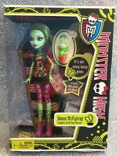 MONSTER HIGH FIRST WAVE 1 IT'S NOT SCARY BEING GREEN 2011 VENUS MCFLYTRAP X3651
