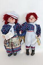 NIB Duck House Dolls Eddie and Emma