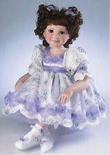 """MARIE OSMOND 2007 """"BABY BRIANNA"""" 15-INCH TODDLER PORCELAIN DOLL"""