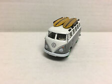 Greenlight * Volkswagen Samba Bus Surf * Zamac GREEN MACHINE * LOOSE * Y237