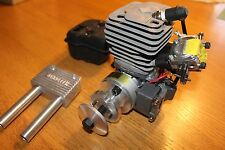 Zenoah G-45 Gas R/C airplane Engine with Pitts Muffler, never started