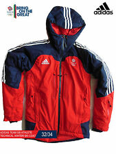 ADIDAS TEAM GB ISSUE - ELITE ATHLETE WINTER TECHNICAL SKI JACKET - SIZE 32/34