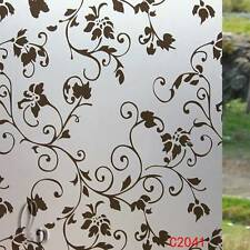 92cm x5m Vintage Privacy Frosted Frosting Removable Glass Window Film c2041