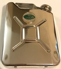 JAGUAR Car Petrol Can / Jerry Can Stainless Steel 5oz Drinking Hip Flask