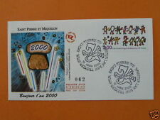children drawings 2000 FDC St Pierre Miquelon SPM380