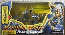 Transformers Machine Wars SANDSTORM complete Hasbro  figure w/box