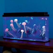Giant Jellyfish Aquarium Deluxe Jellyfish Tank LED Light Fishtank Household  E