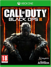 Call of duty: black ops 3 (iii) xbox one * en excellent état *