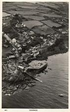 Coverack Air Aerial View unused RP old pc Overland Views