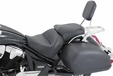 Mustang Wide Touring Two-Piece Vintage Seat for 2004-2009 Honda VTX1300C