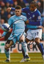 COVENTRY: OLIVER NORWOOD SIGNED 6x4 ACTION PHOTO+COA