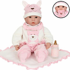 Los niños muñeca con Botellita & Manta del juguete bebé Emilia