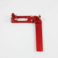 CNC Aluminum Boat Rudder 130mm RED for Medium Size RC Boat