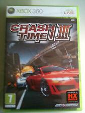 CRASH TIME III - 3  XBOX 360 SIGILLATO EDIZIONE ITALIANA