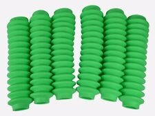 FLUORESCENT LIME GREEN Shock Boots 6 PACK for Jeep Truck and SUV UNIVERSAL FIT