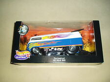 HOT WHEELS CUSTOMIZED VW DRAG BUS, DIE CAST, BIG 1/18, SEALED, RARE!