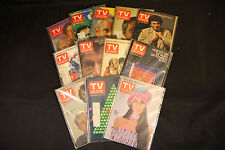 TV Guide Magazine Lot T (1971-1979) WH