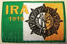 Irish Republican Army (IRA) Defence Forces Insignia Flag Patch (V2)