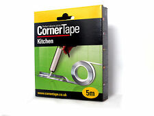 Corner Tape 5m perfect silicone sealant for bathroom Kitchen and shower S 4mm