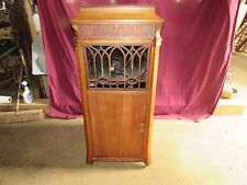 Antique 1916 Edison Disc Phonograph Player Cabinet #S145