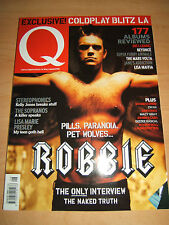 Q Magazine 205 Aug 2003 features Robbie Williams, Coldplay& Sterophonics