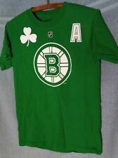 PATRICE BERGERON BRUINS #37 ST PATRICK'S DAY GREEN T-SHIRT~WOMENS SIZE SMALL!!