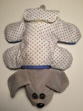 1980's Vintage Gray Newborn Pound Puppies with Pajamas