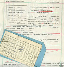 1927 Real Estate Document, Denver, Colorado - D'Angelo Family -Legal Description