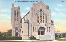 Berwick, Pennsylvania, First Presbyterian Church - Postcard - Vintage - Unused