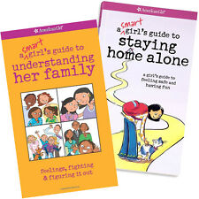 American Girl BOOK SET SGG STAYING HOME ALONE & UNDERSTANDING HER FAMILY Story