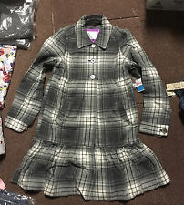 NWT LIMITED TOO JUSTICE  PRINCESS COAT SIZE GREY 16