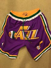 Just Don NBA Utah Jazz Jersey Shorts M 30-32 Fear Of God Yeezy Supreme Bape