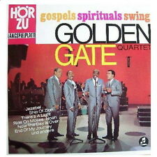 "12"" Golden Gate Quartet Gospels Spirituals Swing (Jezebel, Ship Of Zion) EMI"