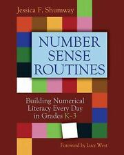 2DAY SHIPPING | Number Sense Routines: Building Numerical Literacy Ev, PAPERBACK
