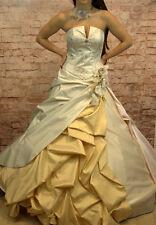 Hochzeitskleid Brautkleid Hochzeit Braut Sissi Sissikleid Größe 38/40 neu beige