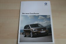 95383) VW Cross Touran Prospekt 08/2010