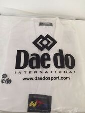 Daedo Taekwondo White Uniform