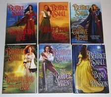 LOT Bertrice Small THE BORDER LORD'S BRIDE LORD AND LADY VIXEN BOND OF PASSION+