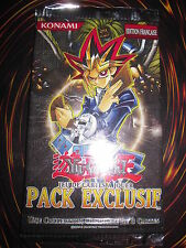 YU-GI-OH! BOOSTER EXCLUSIF INTROUVABLE NEUF SERIE COMPLETE 8 CARTES FRANCAIS