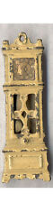 AUTHENTIC OLD KILGORE TOY GRANDFATHER CLOCK ORIGINAL YELLOW * FREE SHIP * CI134