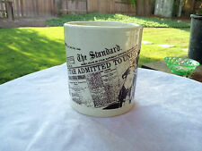 Utah Admitted to Union, News Reporting in Utah 1896,MUG KUTV Channel 2 Souvenir