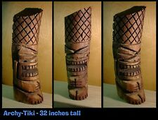 The Logger Tiki - Hand Carved Original TikiZone Design for Your Tiki Lounge Bar
