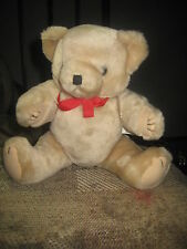 Vintage WANG'S INTERNATIONAL Plush Jointed Teddy Bear Rare Mint! new without tag