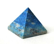REIKI ENERGY CHARGED LAPIS LAZULI PYRAMID CRYSTAL NATURAL CRYSTAL HEALING STONE