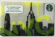 Starbucks 2016 New York City NYC Skyline Gift Card Limited Edition New Unswiped