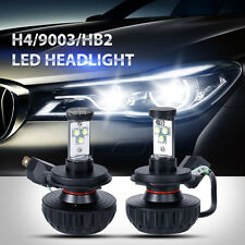 80W H4 9003 HB2 LED Headlight Kit Car Head Light DRL Fit for Honda Fit CRV Yaris