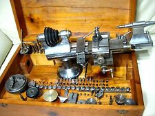 Vintage and Rare Marshall Peerless 8mm Watchmaker Lathe, WW ,collets