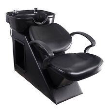 Salon Beauty Equipment Station Unit Spa Bowl Chair Barber Sink Shampoo Backwash