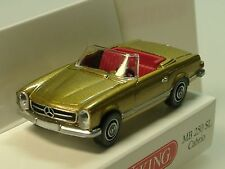 Wiking Mercedes 250 SL Cabrio, gold - 0142 49