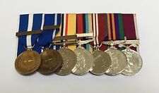KFOR, IFOR, Iraq, Afghanistan, Diamond Jubilee, ACSM, LSGC Full Size Medals